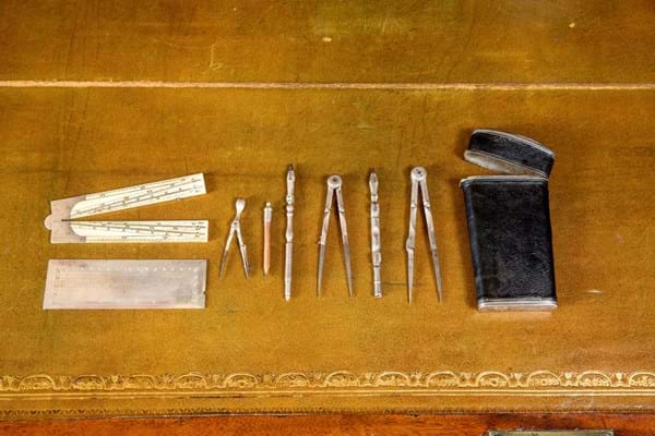 John Wood the Elder drawing instruments