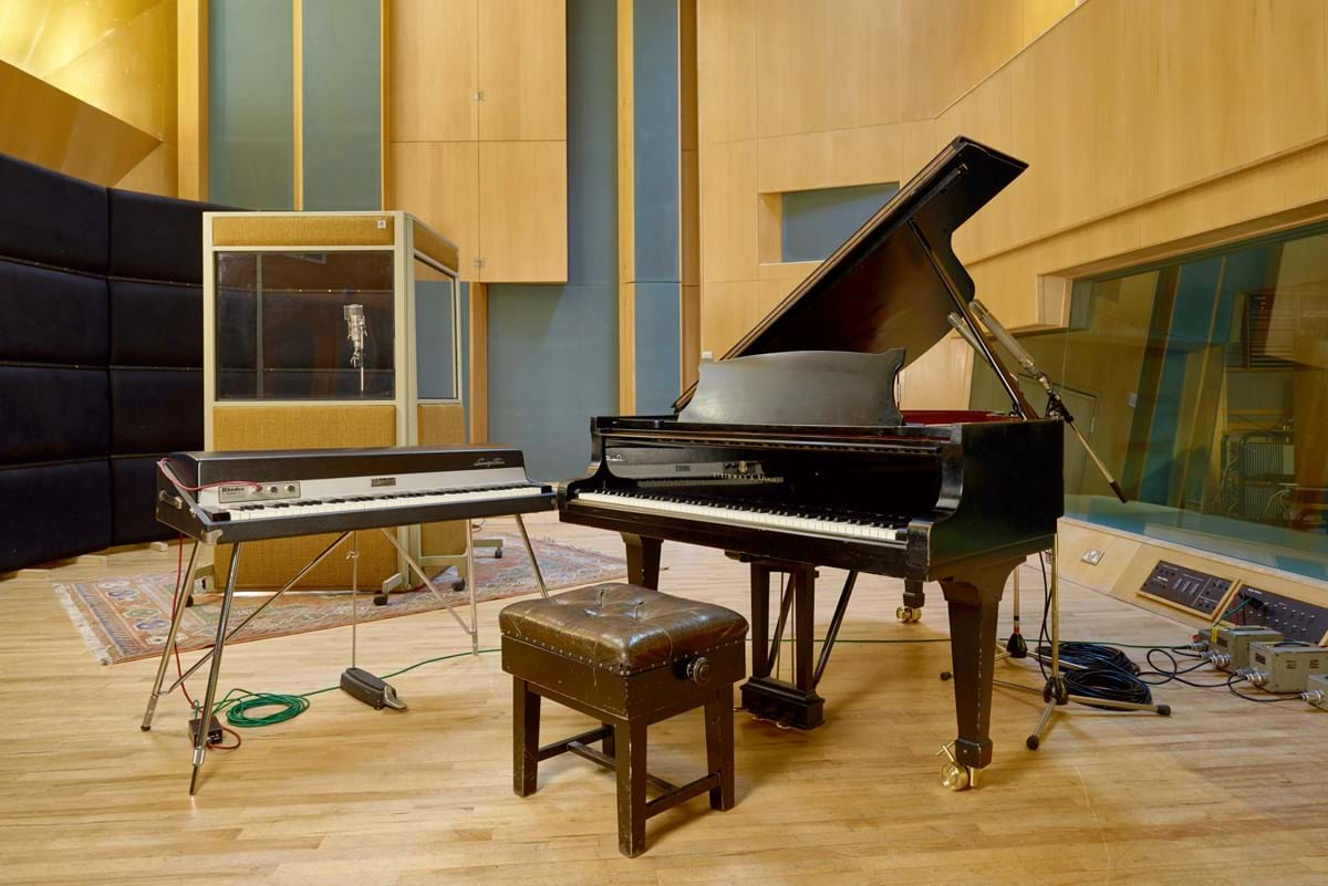 The Steinway piano being sold by Abbey Road studios