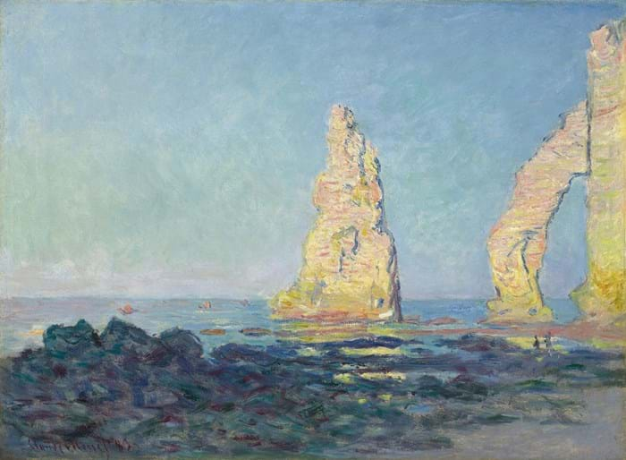 Claude Monet oil painting Normandy