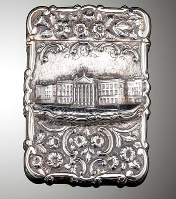 card case by Alfred Taylor of Birmingham