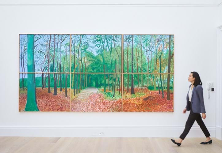 Hockney Woldgate Woods