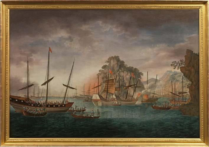 HK pirate painting